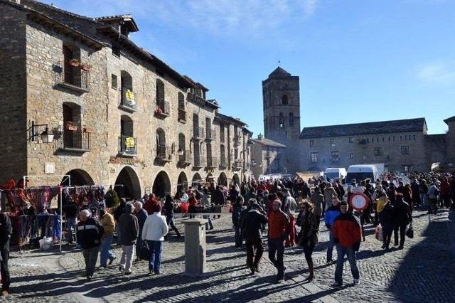 La Diputación de Huesca otorga ayudas a 18 entidades locales para celebrar ferias, exposiciones y salones.