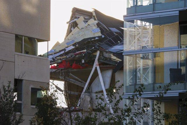 Escola esfondrada a Anvers