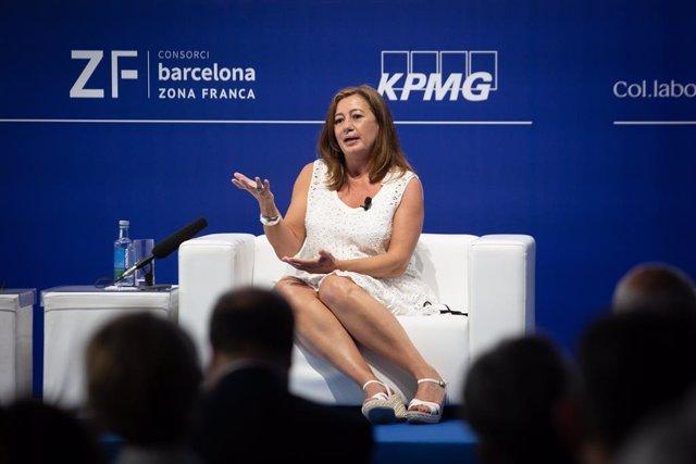 Francina Armengol aquesta setmana a Barcelona