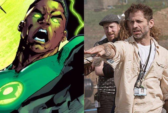 Zack Snyder muestra cómo podría haber sido Green Lantern en La Liga de la Justicia