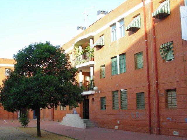 Manzana 15 de la barriada Guadalquivir de Córdoba