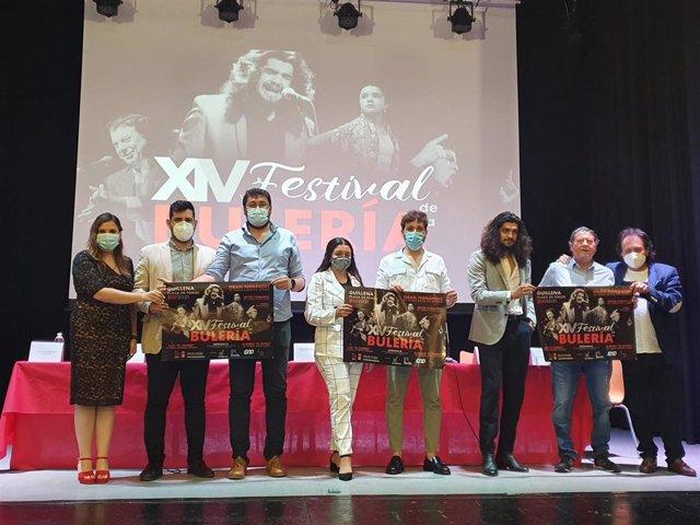 Presentación del Festival de la Bulería de Guillena