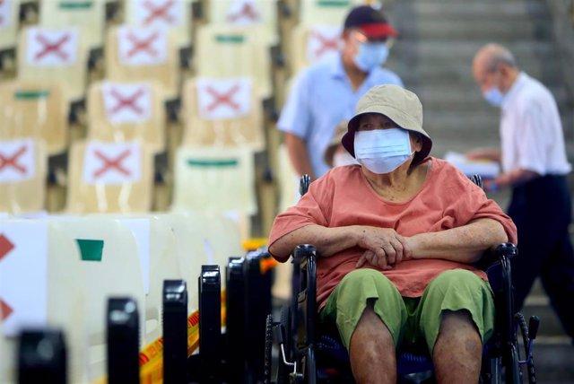 Vacunación contra el coronavirus en Taiwán