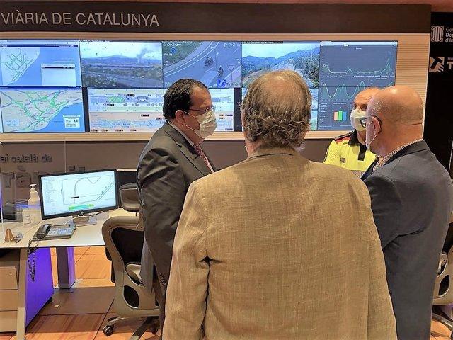 El conseller d'Interior de la Generalitat, Joan Ignasi Elena, en el Civicat