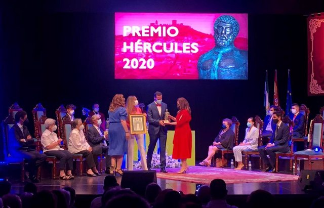Entrega de los Premios Hércules.