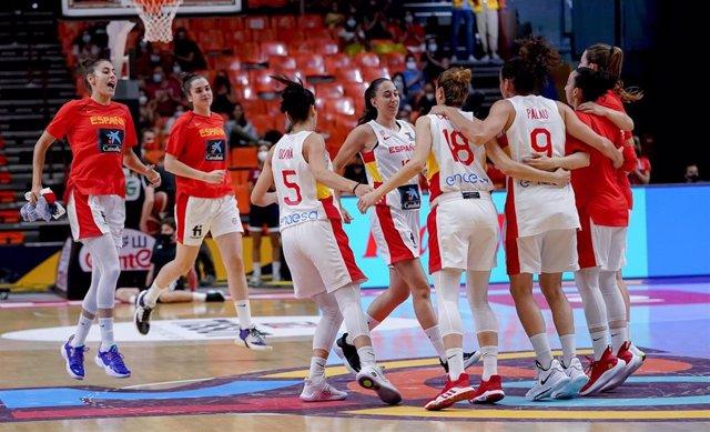 Selección española femenina de baloncesto en el Eurobasket 2021