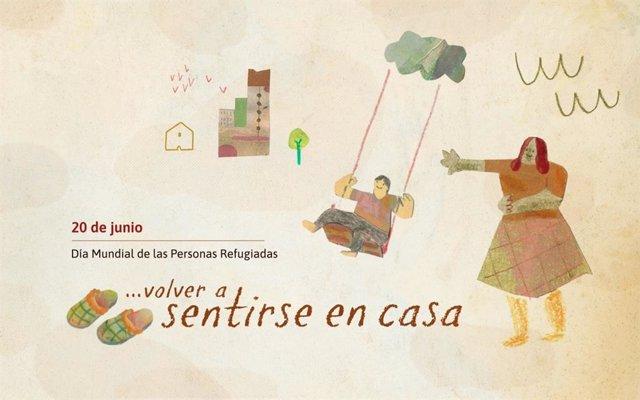 Provivienda lanza la campaña 'Volver a sentirse en casa' por el Día Mundial de las Personas Refugiadas, que se celebra cada 20 de junio