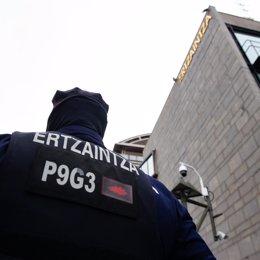 Cvirus.- Gobierno vasco comenzará la semana próxima la vacunación de los agentes de la Ertzaintza