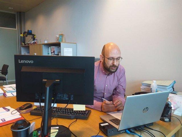 Archivo - El director general de innovación del Gobierno de Asturias, Iván Aitor Lucas.