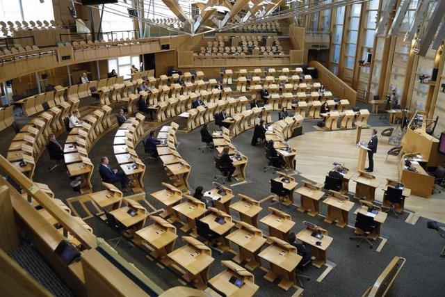 Archivo - El Parlamento de Escocia