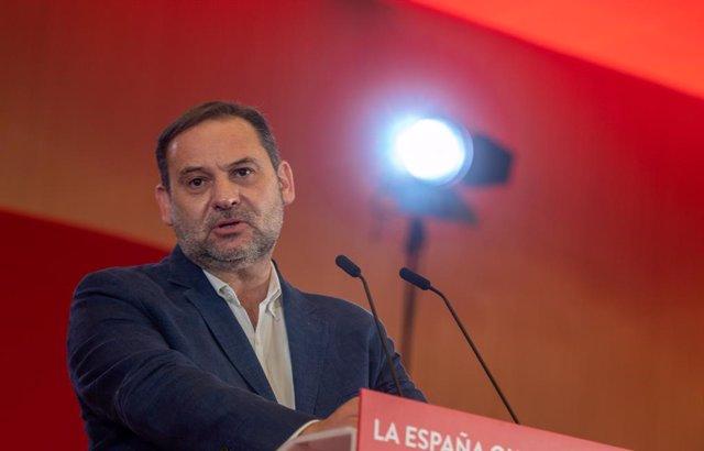 El secretari d'Organització del PSOE i ministre de Transport, Mobilitat i Agenda Urbana, José Luis Ábalos