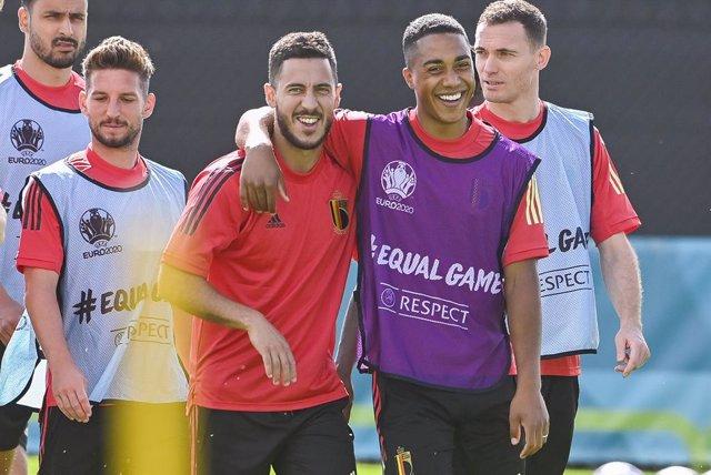 Selección de Bélgica, Hazard
