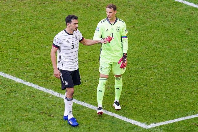 Mats Hummels y Manuel Neuer, Alemania
