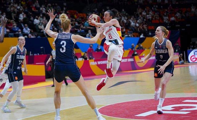 Archivo - España - Eslovaquia EuroBasket 2021