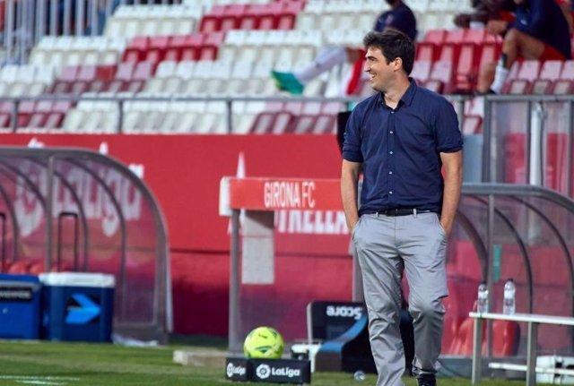 El entrenador del Rayo Vallecano, Andoni Iraola