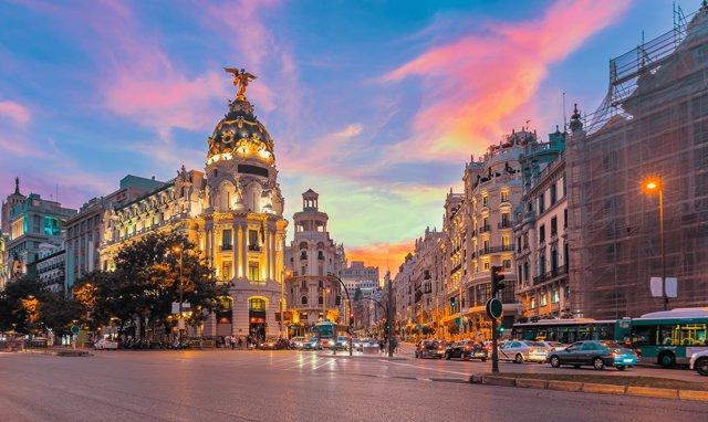 Madrid 43,6 millones de hashtags