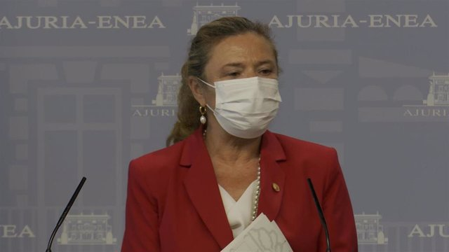 Archivo - La consejera de Salud del Gobierno Vasco, Gotzone Sagardui.