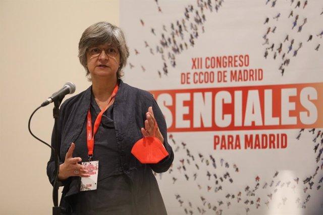 Paloma López, nueva secretaria general de CCOO Madrid