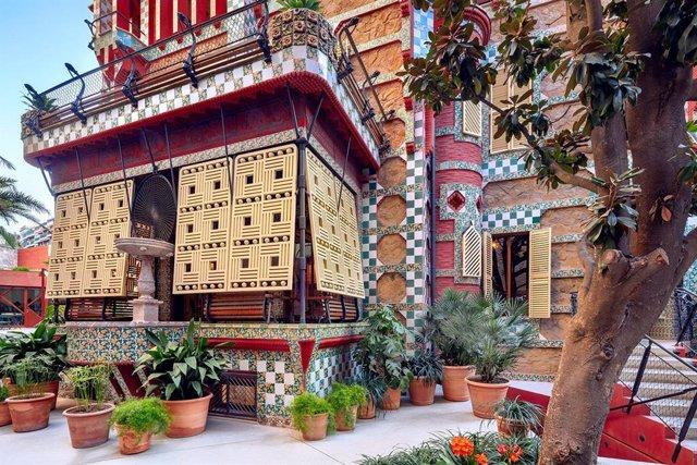 Archivo - Casa Vicens de Gaudí, en Barcelona