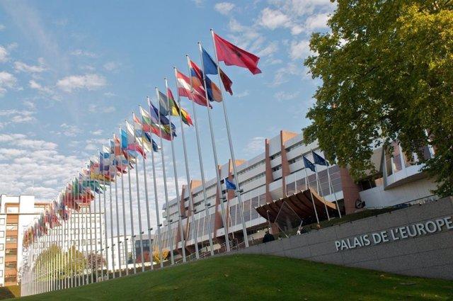Archivo - Sede del Consejo de Europa en Estrasburgo