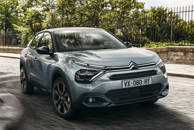 Archivo - Nuevo Citroën ë-C4.
