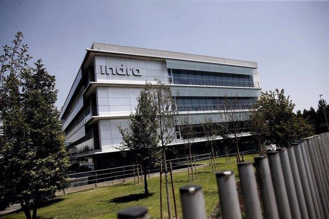 Archivo - Sede de la compañía de tecnología y consultoría Indra en Alcobendas (Madrid)