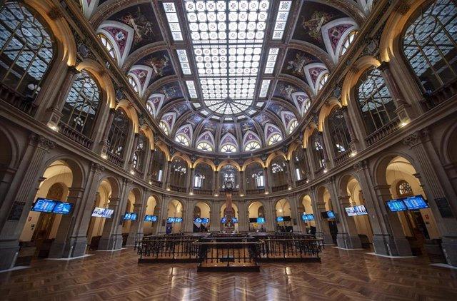 Instalaciones del Palacio de la Bolsa de Madrid, a 18 de junio de 2021, en Madrid, (España)