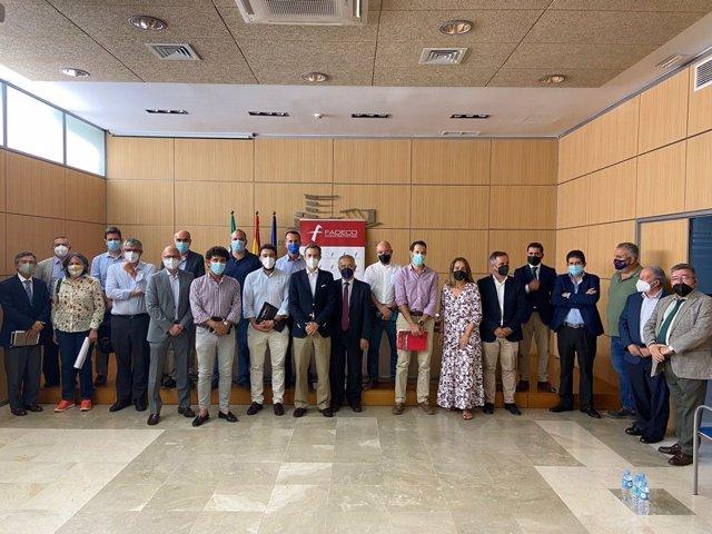 Reunión organizada por Fadeco Contratistas en su sede de Sevilla