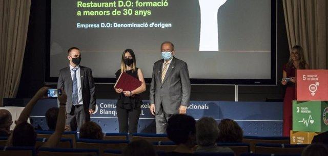 Los galardones Blanquerna-Pimec reconocen las iniciativas de Restaurant DO y Eceleni
