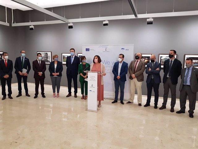 La consejera de Economía, Empresas y Empleo de C-LM, Patricia Franco, en la constitución y primera reunión del Consejo de Captación de Inversión Extranjera de la región