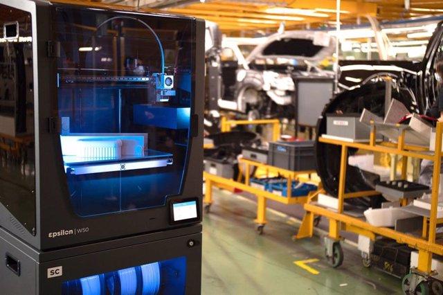 Nissan en la Zona Franca de Barcelona incorpora impresión 3D en su línea de producción / BCN3D