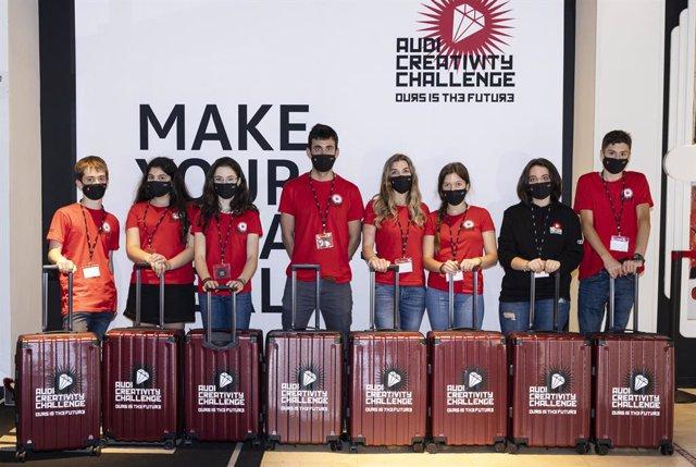 Ganadores del Audi Creativity Challenge.
