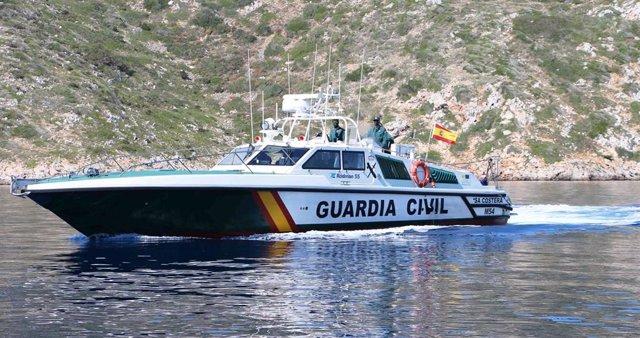 Archivo - Embarcación 'Sa Costera' de la Guardia Civil.