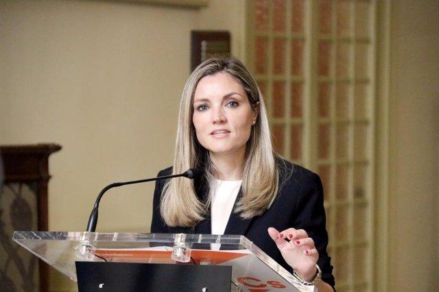 La coordinadora autonómica y portavoz en el Parlament de Cs, Patricia Guasp.