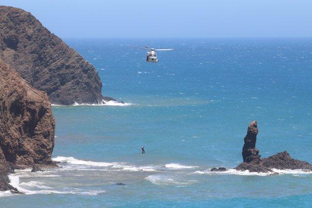 Localizados los cuerpos sin vida de los dos bañistas desaparecidos este domingo en Cala Rajá, en Almería