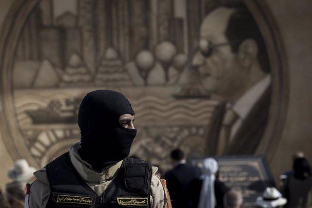 Archivo - Un soldado de Egipto