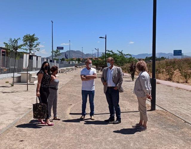Visita de la Junta a Cijuela