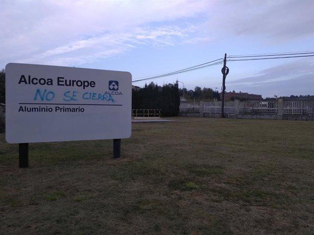 Archivo - La multinacional Alcoa traslada al comité de empresa el cierre de sus plantas en A Coruña y Avilés. En la imagen, la planta de Avilés.