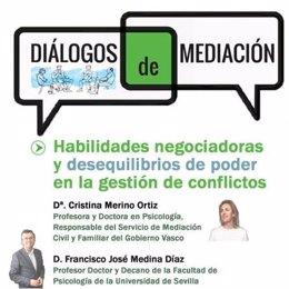 El Defensor analiza habilidades en negociación y desequilibrios de poder en la segunda sesión de 'Diálogos de mediación'