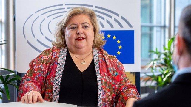 La portavoz socialista en la Comisión de Agricultura de la Eurocámara, Clara Aguilera.