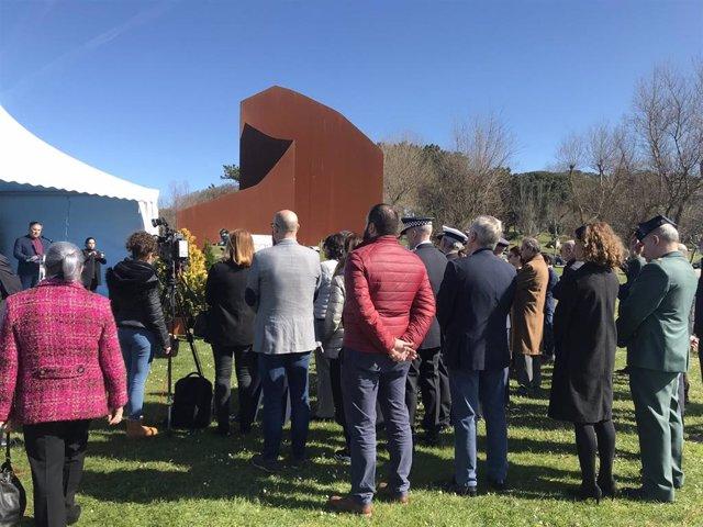 Monumento de homenaje a las víctimas del terrorismo en Santander