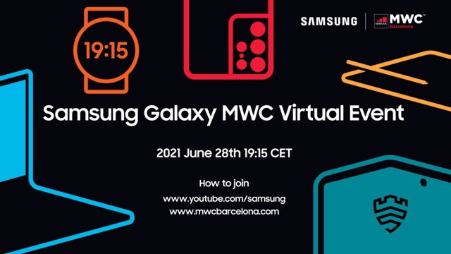 Evento de Samsung en MWC 2021 de Barcelona