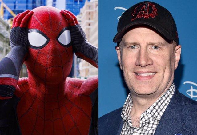 La colaboración entre Kevin Feige y Sony podría estar retrasando el estreno del tráiler de Spider-Man: No Way Home