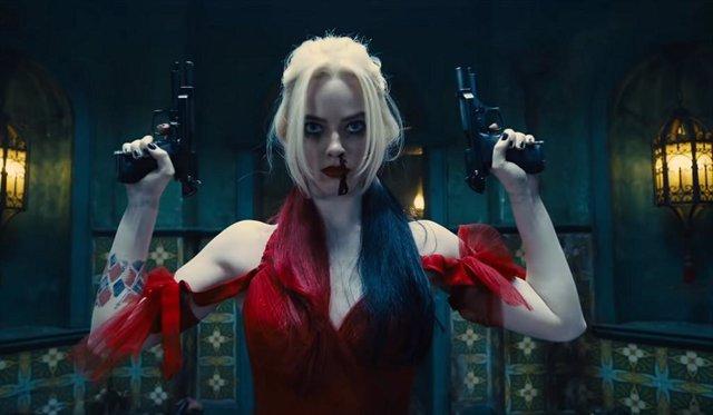 Margot Robbie en El Escuadrón Suicida (The Suicide Squad) de James Gunn
