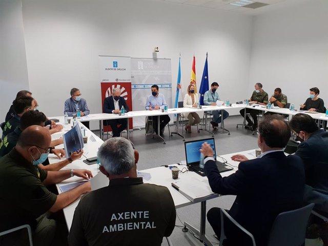 Activado el comité provincial contra incendios en Pontevedra