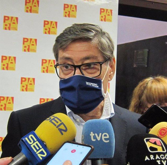 El presidente del Partido Aragonés, Arturo Aliaga.