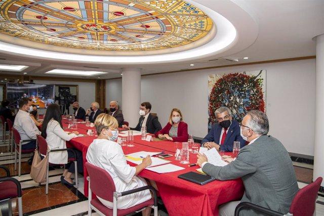 Mesa de seguimiento del Plan Reactiva Canarias