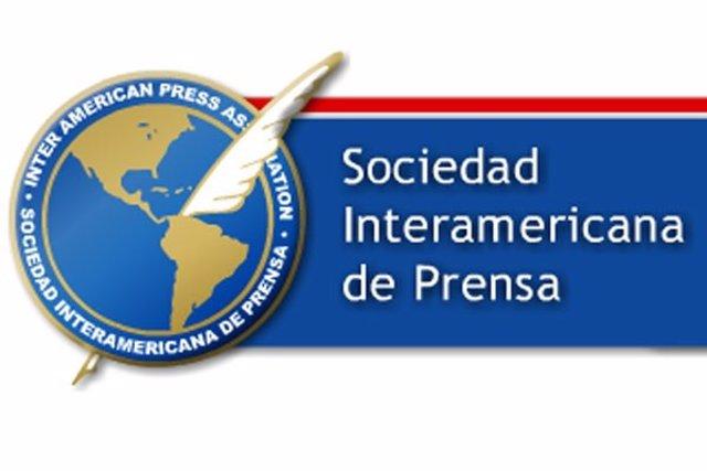 Archivo - Logotipo de la Sociedad Interamericana de Prensa (SIP)