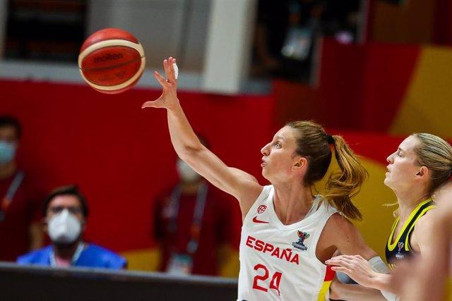Laura Gil en el Eurobasket
