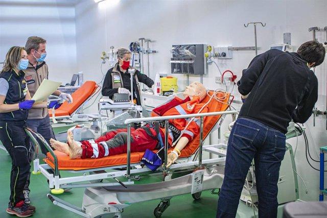 Misión con personal sanitario ruso en Bérgamo, Italia, durante la pandemia del coronavirus